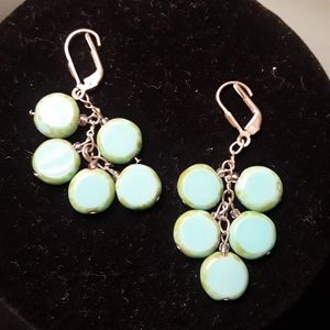Jewelry - Faux turquoise dangles